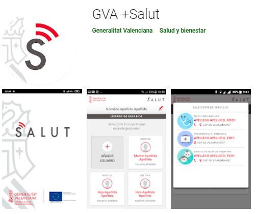 Aplicación móvil de sanidad en Valencia