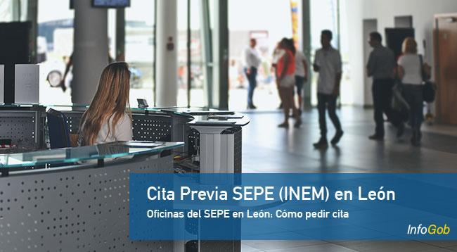 Cita Previa en oficinas del SEPE en León