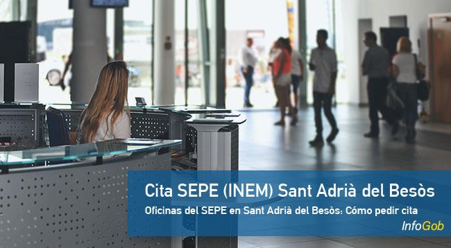 Cita Previa en oficinas del SEPE en Sant Adrià del Besòs