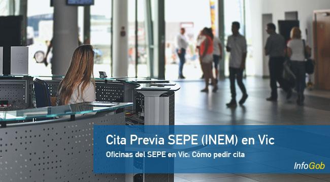 Cita Previa en oficinas del SEPE en Vic