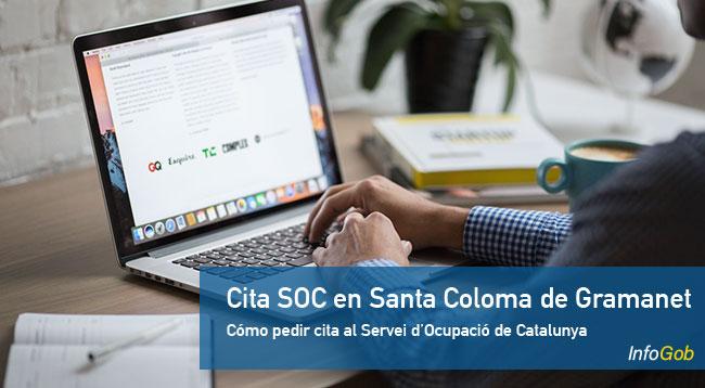 Cita previa con la oficina de empleo SOC en Santa Coloma de Gramanet
