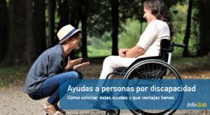 Ayudas a personas con dicapacidad