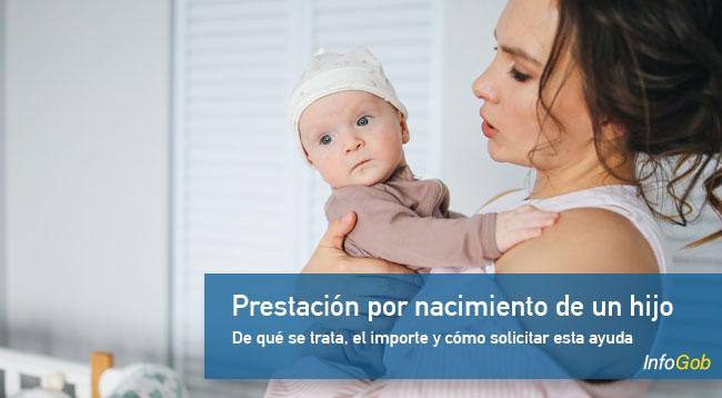 Ayuda por el nacimiento o adopción de un hijo