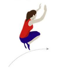 Salto de longitud sin carrera