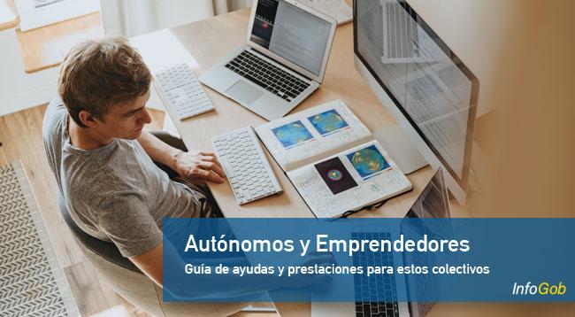 Ayudas y prestaciones para autónomos y emprendedores