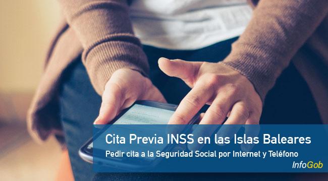 Cita previa con el INSS en las islas Baleares