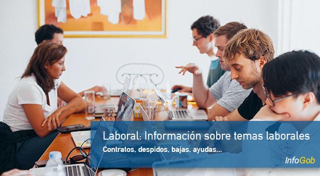 Información sobre el mundo laboral
