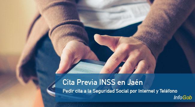 Pedir cita previa con las oficinas del INSS en Jaén