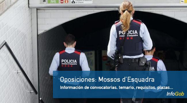 Oposiciones: Mossos d'Esquadra