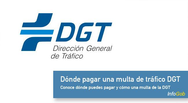 Dónde pagar una multa con la DGT