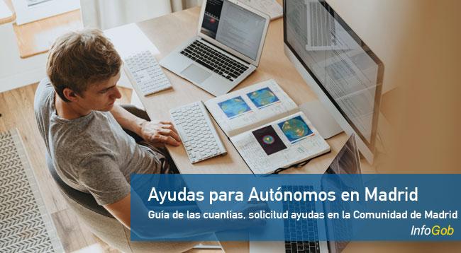 Ayudas a los autónomos en la Comunidad de Madrid