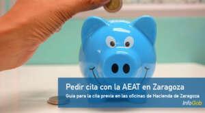 Pedir cita previa con Hacienda (AEAT) en Zaragoza