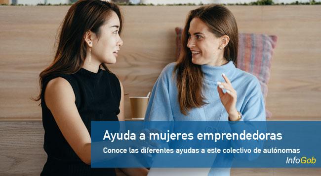 Ayuda a mujeres emprendedoras
