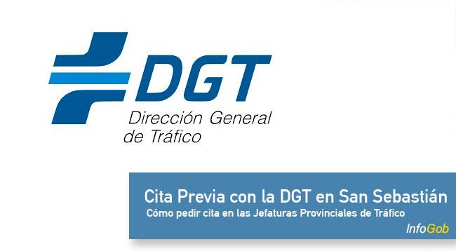 Cita previa con la DGT en San Sebastián (Donosti)