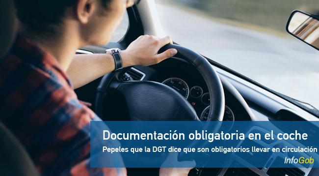 Documentos que debes llevar en el coche