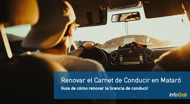 Renovar el carnet de conducir en Mataró