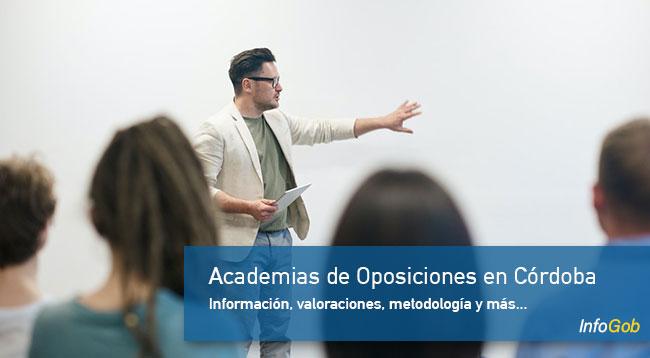 Academias de oposiciones en Córdoba